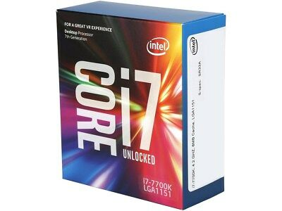 Intel Core i7-7700K Kaby Lake Quad-Core 4-2 GHz LGA 1151 91W BX80677I77700K