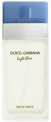 D - G Light Blue Dolce Gabbana Perfume 3-3  3-4 oz edt NEW tester WITH CAP