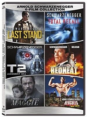 Arnold Schwarzenegger 6-film Collection New DVD 2 Pack