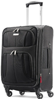Samsonite Luggage Aspire XLite 20 Spinner Expandable Carry On Suitcase - Black