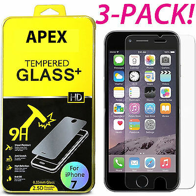 Premium Real Tempered Glass Screen Protector for Apple iPhone 78 Plus