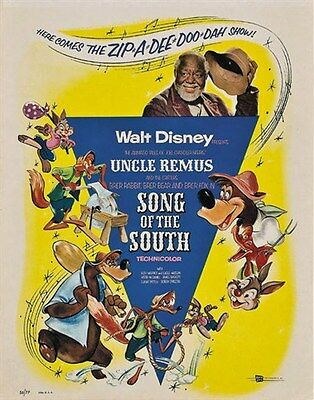 Song of the south Disney cult movie poster print 2
