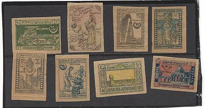 Russia Azerbaijan stamps collection Unsed lot of 8