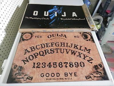 OUIJA BOARD AND BOX ONLY- WILLIAM FULD -NO PLANCHETTE