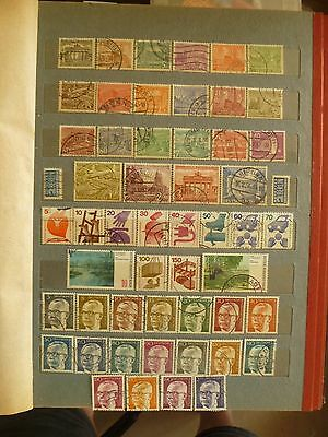 Germany post-WW2 period 3 valuable sets of old stamps-