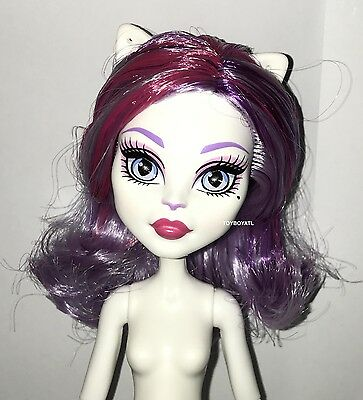 Monster High ShriekWrecked Shriek Mates Catrine DeMew Nude Cat Doll w Tail NEW