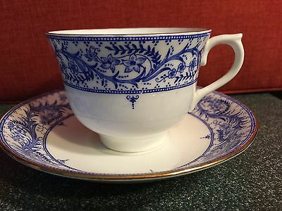 Colclough England Cup and Saucer - MINT