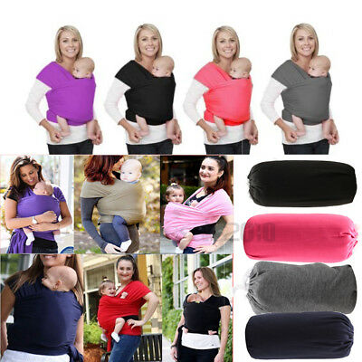 Mothers Gift Adjustable Baby Wrap Rope Infant Newborn Cotton Baby Carrier Sling