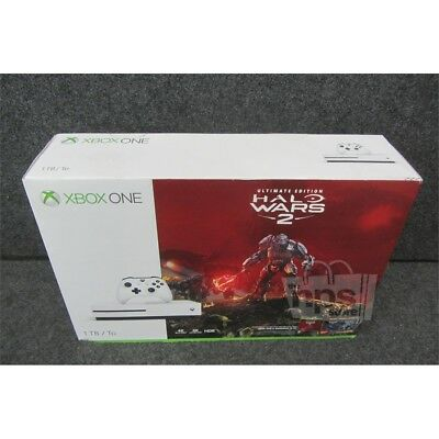 Microsoft 1681 Ultimate Edition Halo Wars 2 XBox One S Console Bundle 1TB White