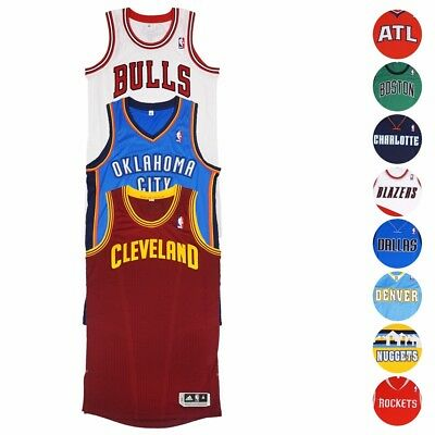 NBA Adidas Authentic On-Court Wordmark Climacool Revolution 30 Jersey Mens