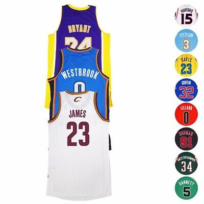 NBA Adidas Authentic On-Court Climacool Player Revolution 30 Jersey Mens
