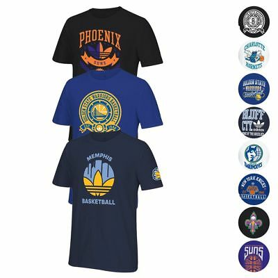 NBA Adidas Originals Premium Various Team Graphic T-Shirt Collection Mens