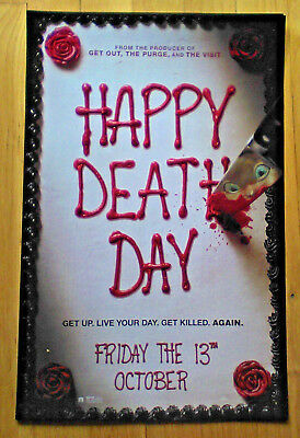 HAPPY DEATH DAY - 2017  11x17 NEW MOVIE PROMOTIONAL POSTER