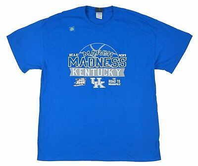 Blue 84 - 2015 March Madness Kentucky Wildcats Blue T-Shirt - Sizes S L XL