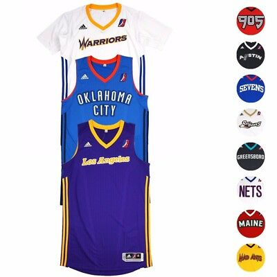 NBA Adidas D-League Authentic On-Court Team Issued Pro Cut Jersey Mens
