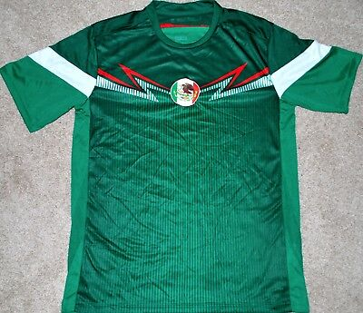 MEXICO MENS SOCCER FUTBOL JERSEY FIFA WORLD CUP S M LG XL TRIKOT NEW READ AD