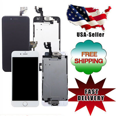 For iPhone 6 A1549 A1586 LCD Touch Screen Replacement with Home Button-Camera