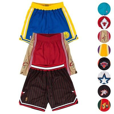 NBA Mitchell - Ness Authentic Hardwood Classics Retro Team Shorts Collection Men