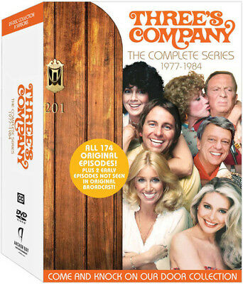 Threes Company Complete Series New DVD Boxed Set
