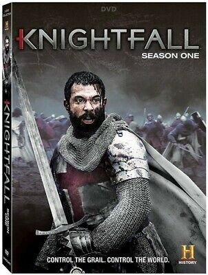 Knightfall Season 1 New DVD 2 Pack