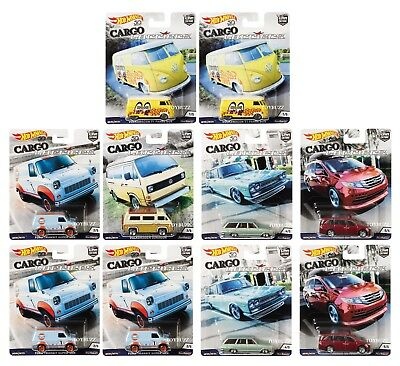 Hot Wheels 164 Car Culture CARGO CARRIERS MOON SKYLINE CASE OF 10 FPY86-956B