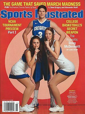 NEW SPORTS ILLUSTRATED DOUG MCDERMOTT CREIGHTON MARCH MADNESS No Label