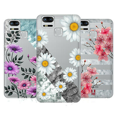 HEAD CASE DESIGNS MARBLE FLORALS HARD BACK CASE FOR ASUS ZENFONE PHONES