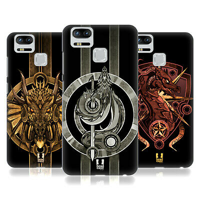 HEAD CASE DESIGNS MEDIEVAL DRAGON EMBLEMS HARD BACK CASE FOR ASUS ZENFONE PHONES