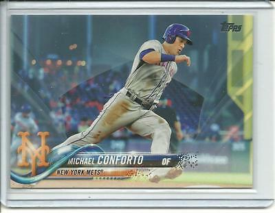 2018 Topps Series 1  Michael Conforto 88 Mothers Day Pink Parallel d 50 Mets