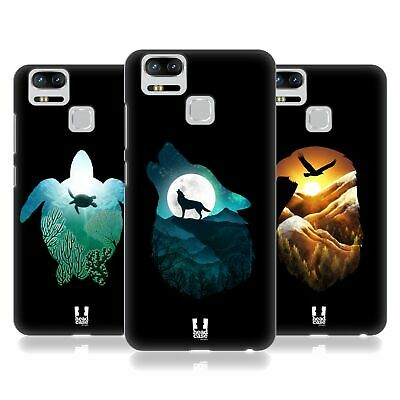 HEAD CASE DESIGNS ANIMAL DOUBLE EXPOSURE HARD BACK CASE FOR ASUS ZENFONE PHONES