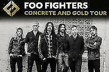 Foo Fighters at Wrigley Field Sunday July 29  General Admission FIELD tics 2