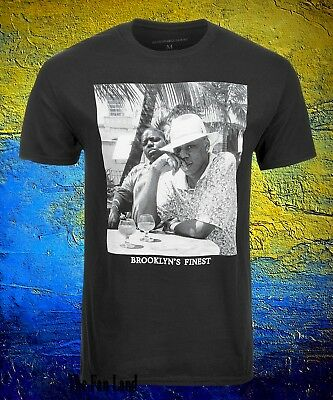 New Notorious B-I-G Biggie Smalls Jay Z Brooklyns Finest Mens Vintage T-Shirt