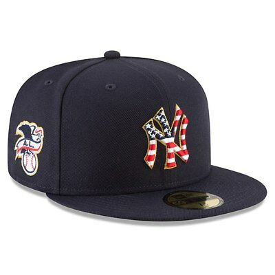 New York Yankees New Era 2018 Stars - Stripes 4th of July 59FIFTY Fitted Hat