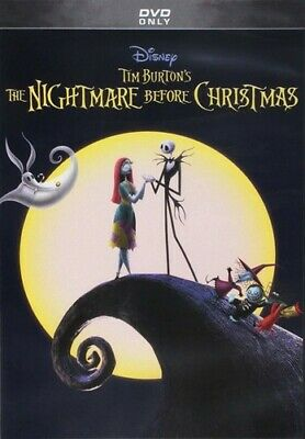 The Nightmare Before Christmas New DVD Anniversary Ed Repackaged