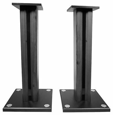 2 Technical Pro MB5000STAND Studio Monitor Bookshelf Home Theater Speaker Stands