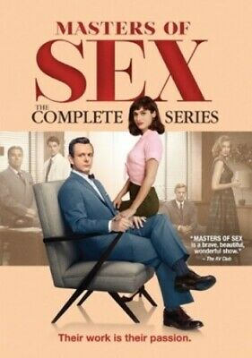 Masters Of Sex The Complete Series New DVD