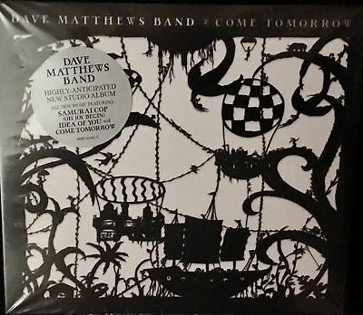DAVE MATTHEWS BAND CD COME TOMORROW 2018 Brand new unopened-