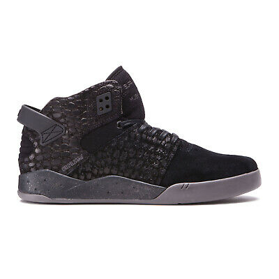 Supra Skateboard Shoes Skytop III Black-Charcoal