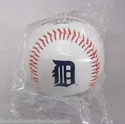 1 Detroit Tigers Team Logo Ball MLB Baseball Rawlings