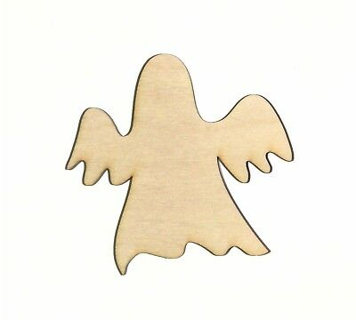 Ghost Unfinished Wood Shape Cut Out G11511 Crafts Lindahl Woodcrafts