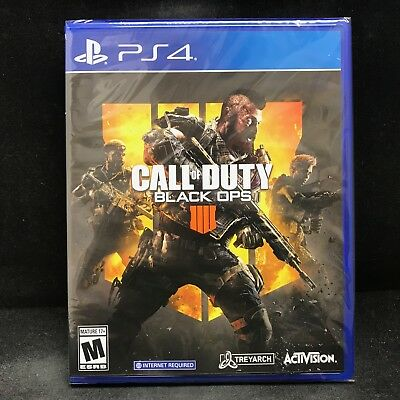 Call of Duty Black Ops 4 Sony PlayStation 4 PS4 BRAND NEW