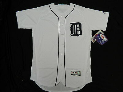 Authentic Detroit Tigers NEW  FLEX BASE Home White Jersey 40