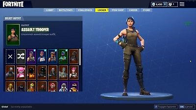 fortnite account A Assault Trooper