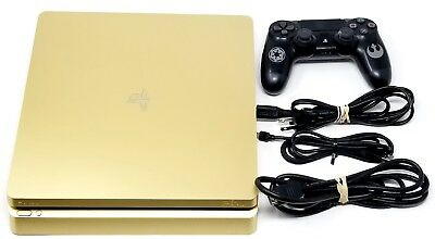 Sony PlayStation 4 Slim Limited Edition 1TB Gold Console