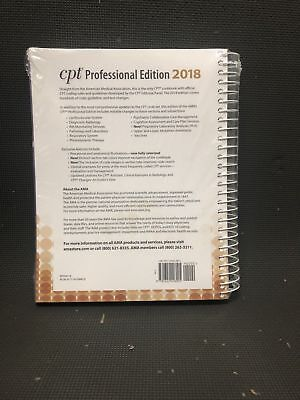 CPT 2018 Professional Edition American Medical Association