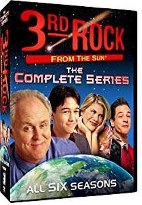 3rd Rock from the Sun The Complete Series DVD 2013 17-Disc Set - NEW