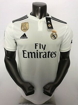 Real Madrid Home Jersey 1819 Large ask about Different Sizes