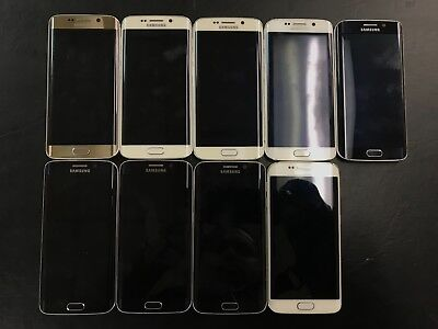 LOT of 9 MIXED SAMSUNG GALAXY DEVICES - PARTS DEAL LOT-165