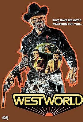 Westworld DVD NEW SEALED  Yul Brynner Richard Benjamin BIN FREE SHIP