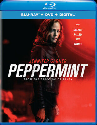 Peppermint New Blu-ray With DVD 2 Pack Digital Copy